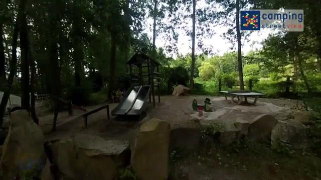 Camping L'Etang de Belesbat Courdimanche sur Essonne Ile-de-France FR